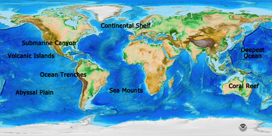 And a view of the general geography and ecology of the planet.