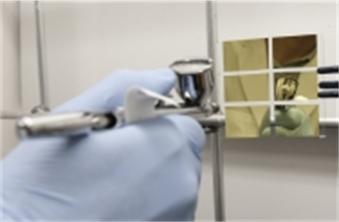 Spray-on solar cells (source: UT Austin).